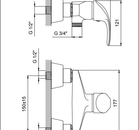 شیر توالت کیان مدل کیانا