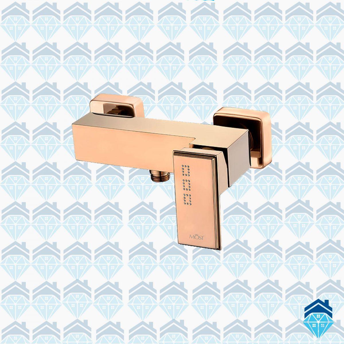 شیر توالت موست مدل اتریش رزگلد