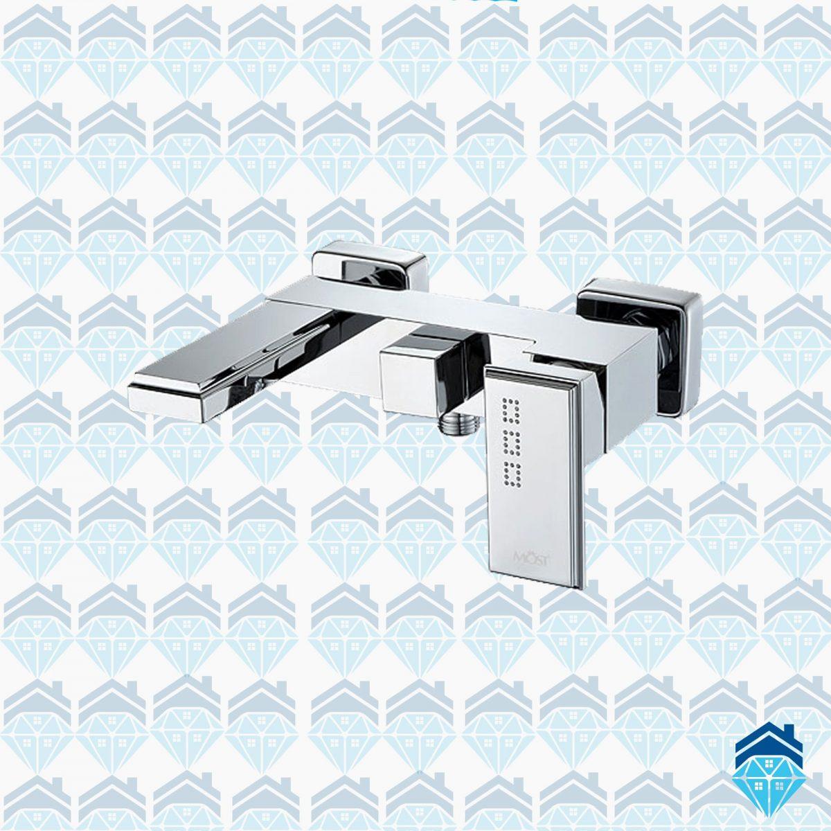 شیر حمام (دوش) موست مدل اتریش کروم