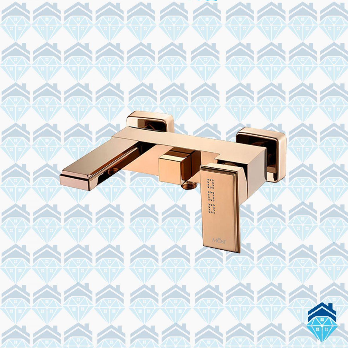 شیر حمام (دوش) موست مدل اتریش رزگلد